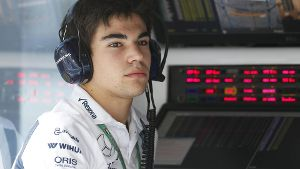 Neuling: Lance Stroll debütiert für Williams in der Formel 1.