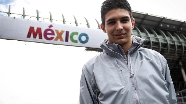 Formel 1: Esteban Ocon im Porträt. Esteban Ocon wechselt von Manor zu Force India. (Quelle: imago/Crash Media Group)