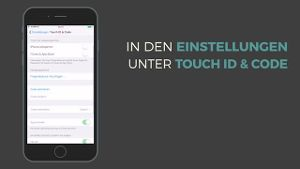 Wie funktioniert die Passcode-Sperre auf den iPhone? (Screenshot: t-online)