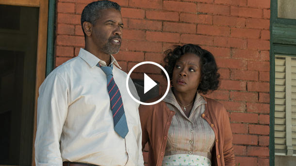 "Denzel Washington und Viola Davis in ""Fences"" (Quelle: Paramount)"