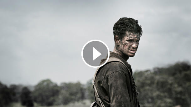 "Andrew Garfield in ""Hacksaw Ridge"" (Quelle: Universum)"