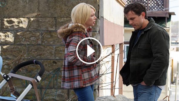 "Michelle Williams und Casey Affleck in ""Manchester by the Sea"" (Quelle: Universal)"