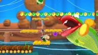 Poochy & Yoshi's Woolly World Jump'n'Run für 3DS von Nintendo (Quelle: Nintendo)