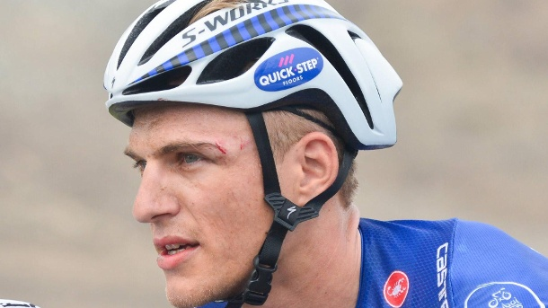 Radsport: Eklat um deutschen Topsprinter Kittel bei Dubai-Tour. Gezeichnet: Marcel Kittel nach der 3. Etappe der Dubai-Tour. (Quelle: imago images/ZUMA Press)