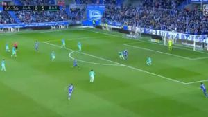 Barcelona fegt Alaves vom Platz. (Quelle: eplayer)