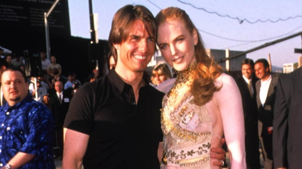 Tom Cruise und Nicole Kidman 2001 in Hollywood  (Quelle: imago images/imago / ZUMA Press)