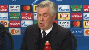 Arsenal mit Barriere? Das sagt Ancelotti. (Screenshot: Omnisport)