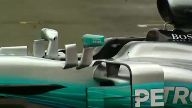 Neuer Silberpfeil in Silverstone. (Screenshot: Reuters)