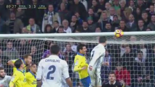 Nur Remis! Real Madrid patzt gegen UD Las Palmas. (Quelle: eplayer) (Quelle: (Quelle: eplayer) )