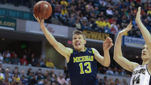 Moritz Wagner spielt mit Michigan um den College-Titel. Moritz Wagner spielt mit der University of Michigan um den Titel (Quelle: imago/ZUMA Press)