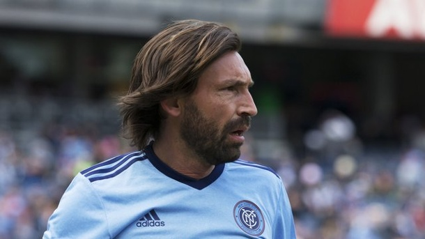 Fußball: Pirlo und Co. - Die Stars der Major League Soccer. Andrea Pirlo spielt in der Major League Soccer für den New York City FC.