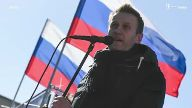 Festnahmen bei Protesten in Russland (Screenshot: Imago)