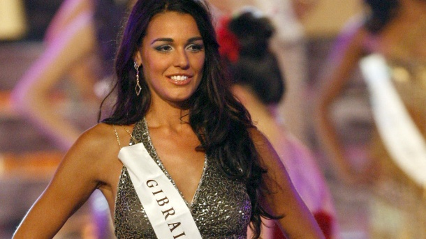 """Miss World 2009"" aus Gibraltar (Quelle: dpa)"