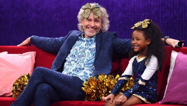 """Little Big Stars"": Thomas Gottschalk kontert lässig Kritik an Show.  (Quelle: SAT.1/Willi Weber)"