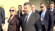 Außenminister Gabriel in Israel. (Screenshot: Reuters)