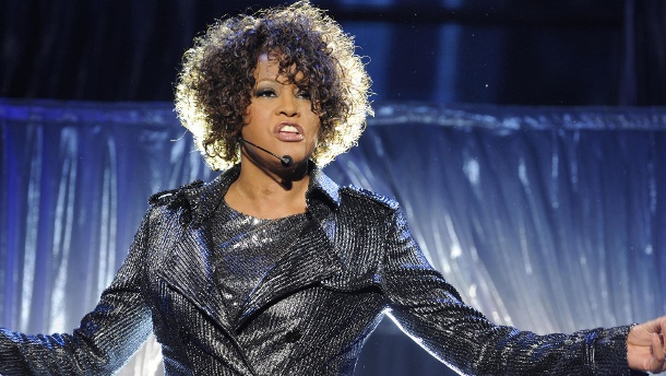 Sängerin Whitney Houston liebte eine Frau. Whitney Houston (Quelle: dpa)
