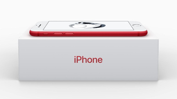 iPhone 7 in Rot (Quelle: Apple)