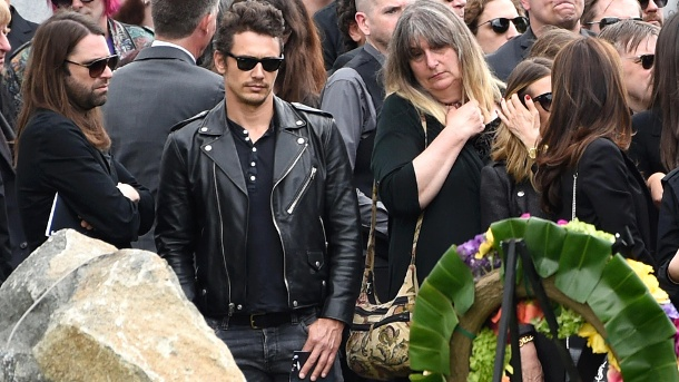 James Franco nahm an der Trauerfeier für Chris Cornell teil.  (Quelle: AP/dpa/Chris Pizzello/Invision/AP)