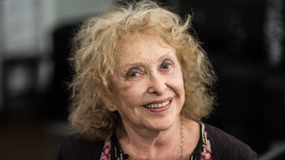Carolee Schneemann in Frankfurt am Main. (Quelle: dpa/Andreas Arnold)