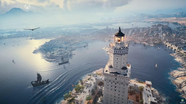 Xbox OneX spielt Ubisofts Assassins Creed: Origins in 4K (Quelle: Microsoft)