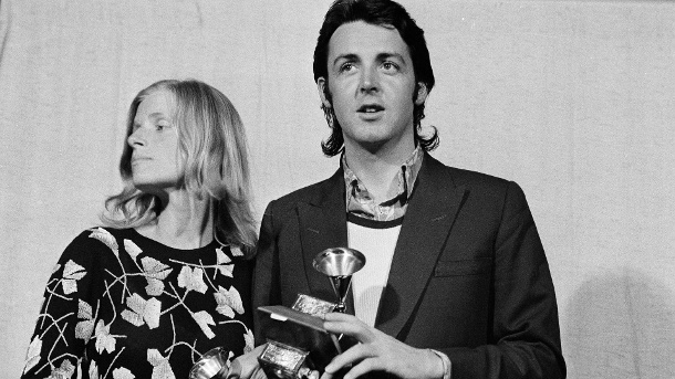 Paul McCartney und Linda McCartney 1971. (Quelle:     picture alliance / AP Images)