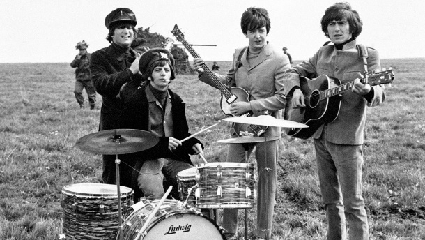 John Lennon, Ringo Starr, Paul McCartney und George Harrison. (Quelle:     picture alliance / empics)