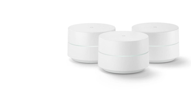"""Google Wifi"" im Dreier-Pack (Quelle: Google Inc.)"