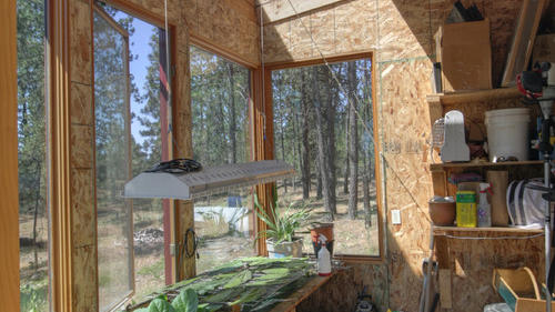 Auch als Wandverkleidung sind OSB-Platten optimal. (Quelle: Copeland Architecture & Construction Inc / Quelle: houzz.de )