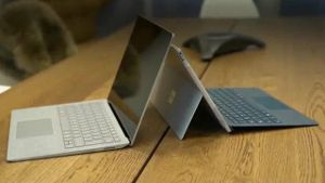 Nach fünf Jahren Surface-Tablets baut Microsoft den ersten Surface Laptop. (Screenshot: t-online.de)