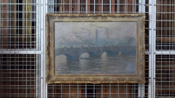 Ausstellungen - Monet und Rodin: Gurlitt-Funde in Bonn. Claude Monet, Waterloo Bridge, 1903.
