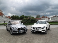 Audi Q5 gegen Mercedes GLC (Quelle: press-inform)