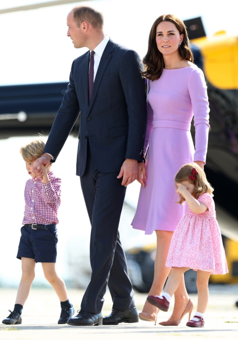 Die Royals im Partnerlook (Quelle: dpa)