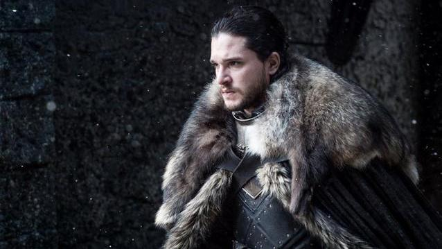 """Game of Thrones"" Folge vier: Was Sie in ""Kriegsbeute"" erwartet. Jon Snow aus der Serie Game of Thrones in der 7. Staffel (Quelle: Helen Sloan/HBO)"