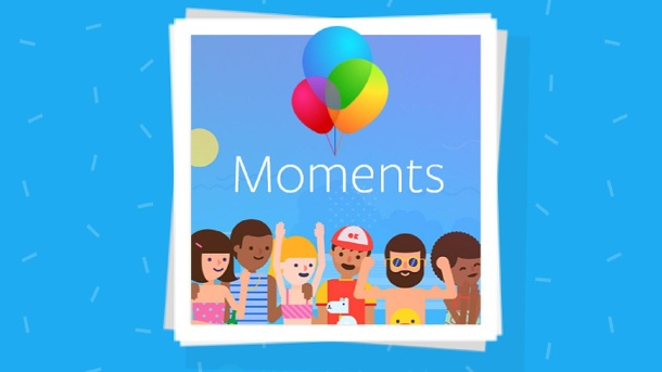 "Facebook: Mit ""Moments""-App heimlich in China. Facebook Moments (Quelle: Facebook)"