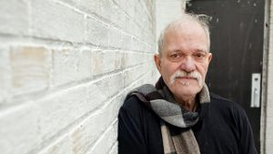 Jazz-Gitarrist John Abercrombie, aufgenommen im April 2013 in New York.