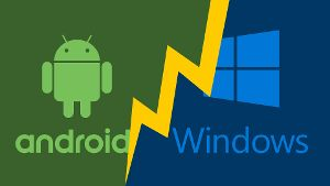 Windows und Android