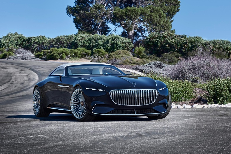 Mercedes-Maybach Vision 6 1 (Quelle: Hersteller)