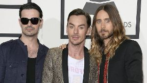 Thirty Seconds to Mars präsentieren in Berlin ihre neue Single.
