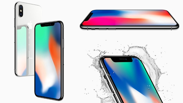 Apple stellt vor: iPhone X, iPhone 8, Apple TV 4K & Apple Watch – ohne Überraschungen. Das Apple iPhone X kommt im November ab 999 US-Dollar in die Läden. (Quelle: Apple)