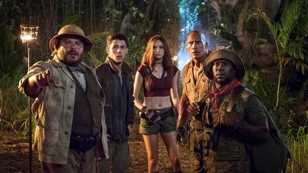 Am 21. Dezember kommt 'Jumanji: Welcome to the Jungle' in die Kinos. (Quelle: Sony Pictures)