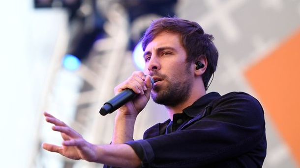 "Max Giesinger wird Juror bei ""The Voice Kids"". Max Giesinger in Aktion"