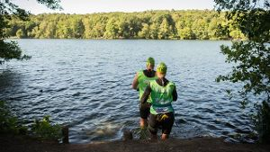Swimrun-Training (Quelle: dpa)