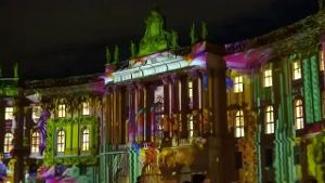 Festival of Lights erleuchtet Berlin (Screenshot: Reuters)