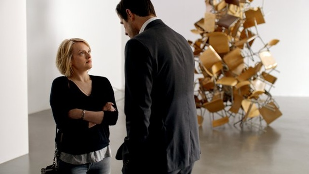 "Film - ""The Square"": Böse Satire auf den Kunstbetrieb. Elisabeth Moss spielt in ""The Square"" Christians Freundin Anne, die es nicht immer leicht hat mit dem machohaften Museumsmanager."