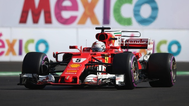 Qualifying in Mexiko: Sebastian Vettel schnappt sich Pole Position. Sebastian Vettel holte sich in Mexiko seine 50. Pole Position. (Quelle: imago/Crash Media Group)