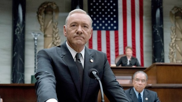 "Leute - Medien: Netflix beendet ""House of Cards"". Kevin Spacey als US-Präsident Underwood in der TV-Serie ""House of Cards""."