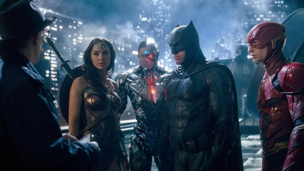 "Film - ""The Justice League"": Superhelden-Saga. J."
