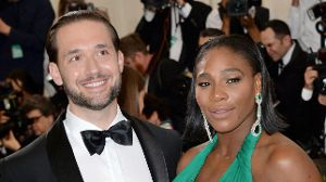 Tennis-Star Serena Williams: Sie hat ihren Partner Alexis Ohanian geheiratet.