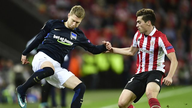 Hertha-Aus in der Europa League: Niederlage in Bilbao