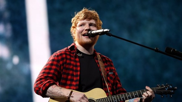 "Musik: Ed Sheerans ""Shape Of You"" wird wohl Hit des Jahres. Ed Sheeran ist top."